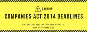 Companies Act 2014 Warning